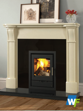 Rosse Ivory Pearl Fireplace